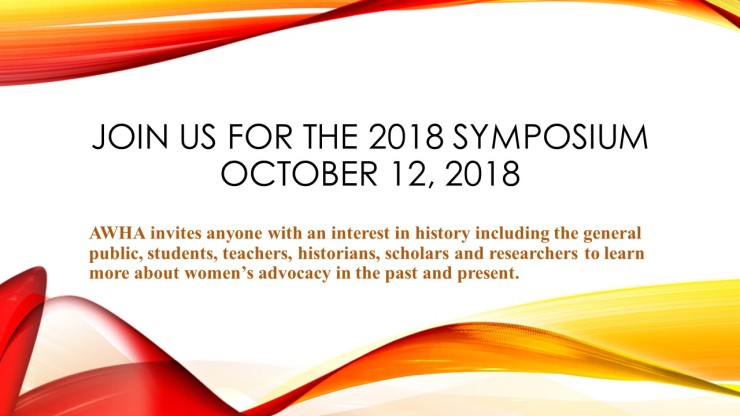 Join Us for the 2018 Symposium